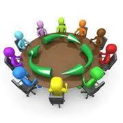Img table people round table roundtable discussion support group
