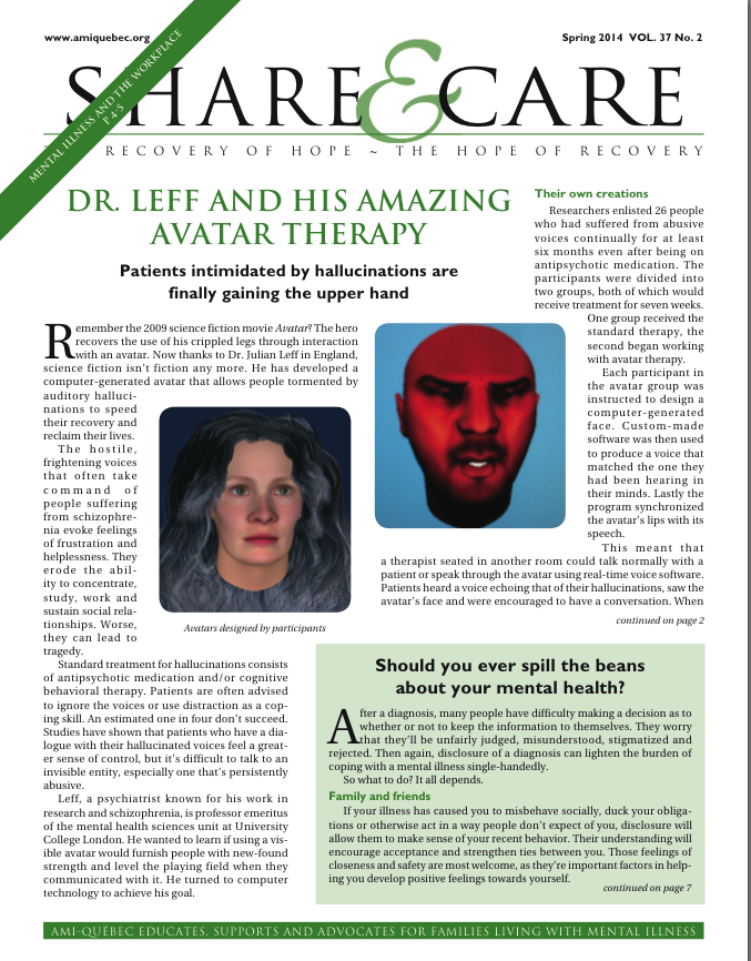 NL Share and Care Spring 2014